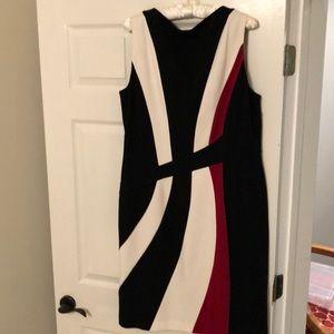 Sheath knit dress size 16